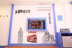 英式兩人房塗鴉設計