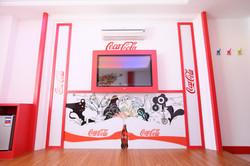 可口可樂設計塗鴉