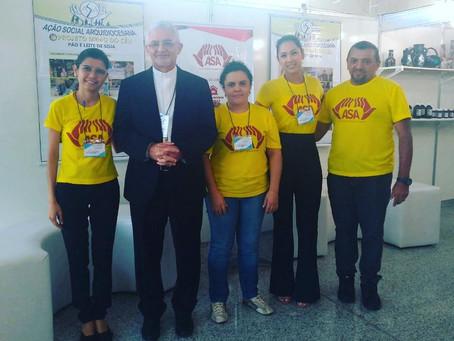 Ação Social Arquidiocesana participa do IV EXPOFÉ da Arquidiocese da Paraíba