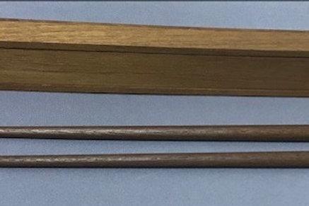 マイ箸ケース入り(インドネシア手づくりチーク植林木)