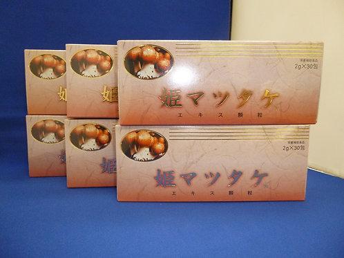 姫マツタケエキス顆粒2g×30包×6箱