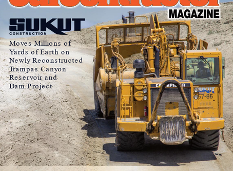 Peed Equipment Highlighted in the Dec 2019 issue of CalContractor magazine