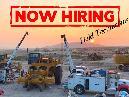 As we continue to grow we are looking to add on more qualified field technicians to our team!