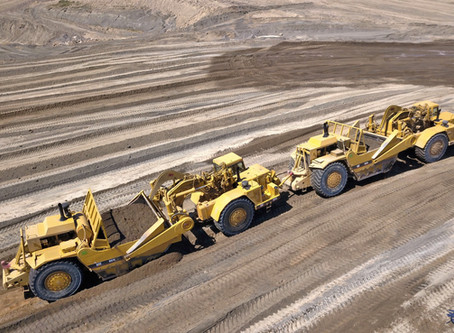 We are very proud to have one of the industry's largest fleet of Tier 4 powered 657 scrapers