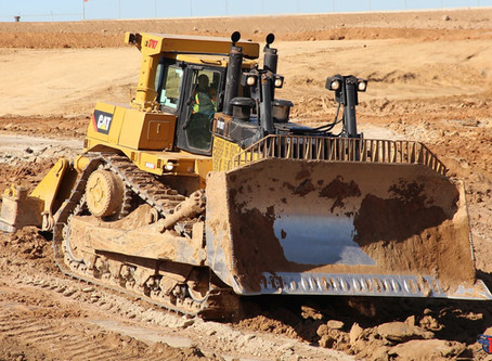 D10T's are great ripping dozers for keeping the cut prepped for 657 scrapers