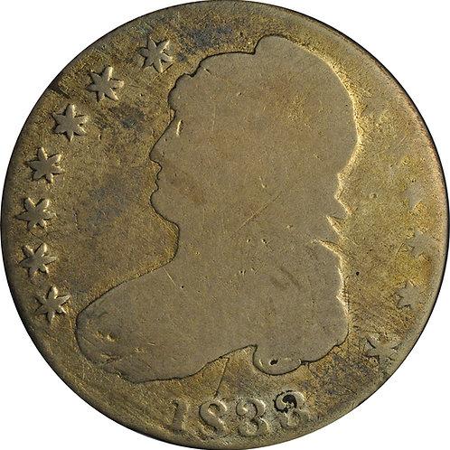 1833 20-T CBH Counterfeit, G/VG