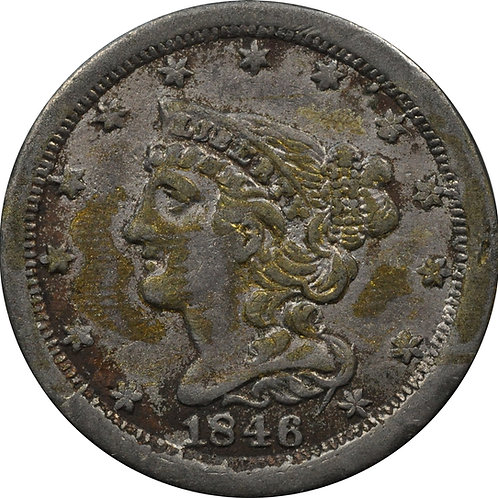 1846 half-cent electrotype