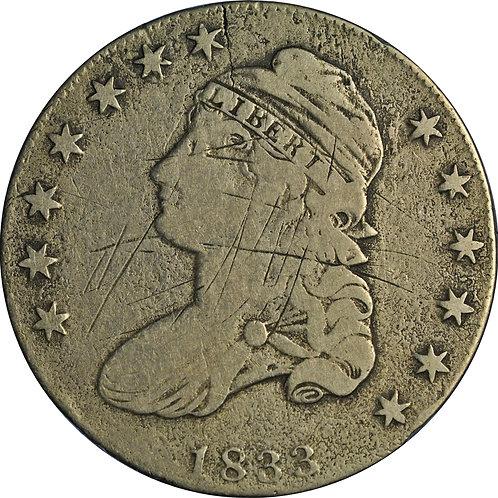 1833 1-A CBH Counterfeit, G/VG