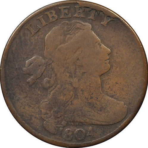 1804 large cent electrotype