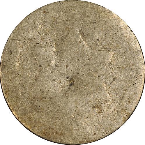 1852 td1-tdA, 3cS counterfeit, PO/FR