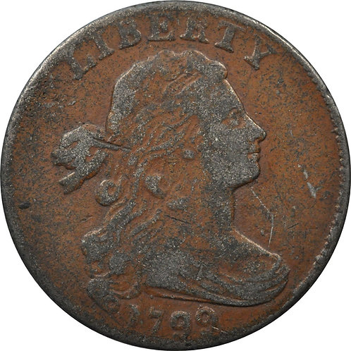 1799 S-189 large cent electrotype