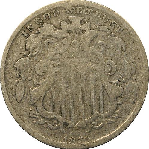 1870 Z2-H Shield Nickel