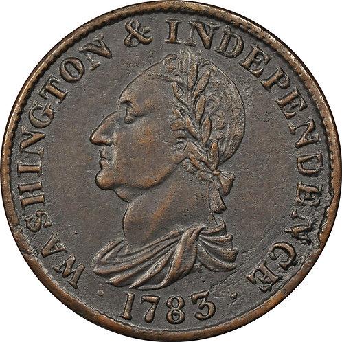 1783 Washington Draped Bust Electrotype