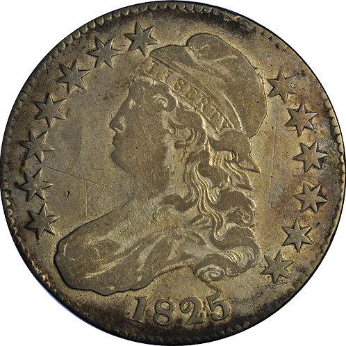 1825 1-A CBH Counterfeit, VF+
