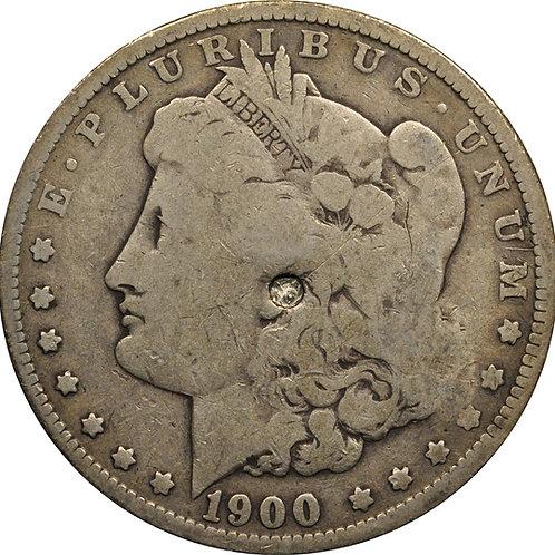 1900-O VAM 5 'Micro O' Morgan Dollar Counterfeit