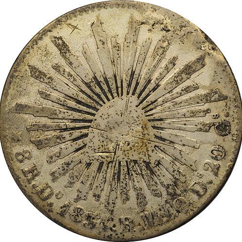 1834 Do 8 reales counterfeit