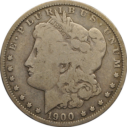 1900-O VAM 5 Micro O Morgan Dollar counterfeit
