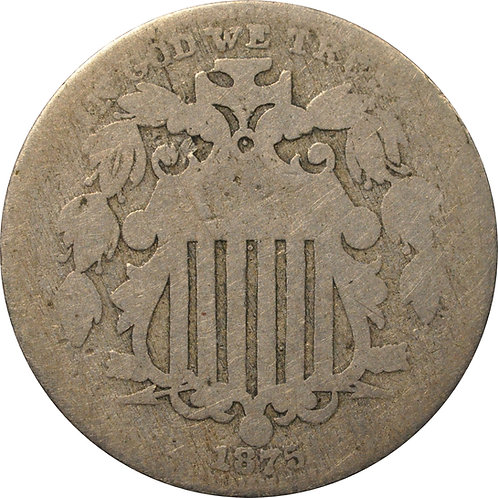 1875 Z2-N Shield Nickel
