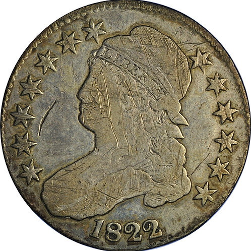 1822 1-A CBH Counterfeit, Fine