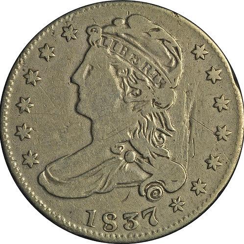 1837 3-C CBH Counterfeit, VG+