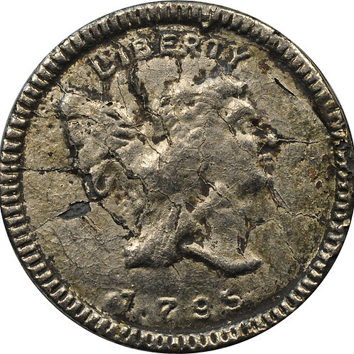 1795 half-cent electrotype