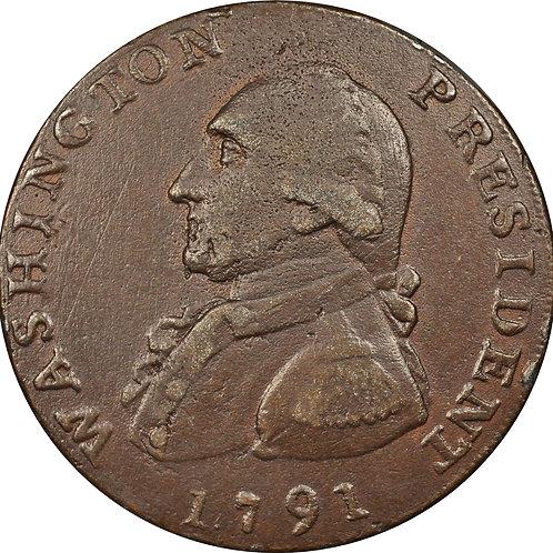1791 Washington Large Eagle Electrotype