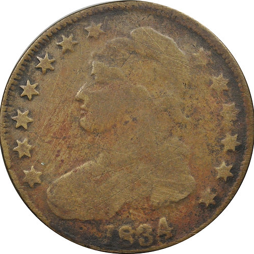1834 11-K counterfeit CBH - Discovery Coin!