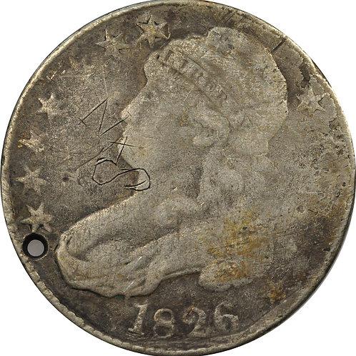1826 2-B, Stone Family, counterfeit CBH