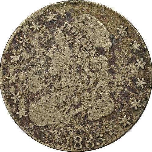 1833 10-J counterfeit CBH