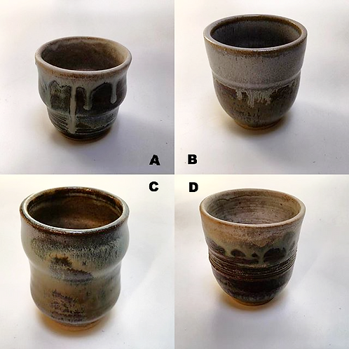 Yunomi Japanese teacups - sold individually