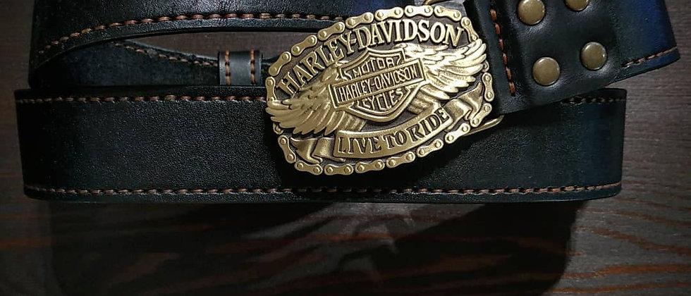 Ремень ручной работы Harley Davidson