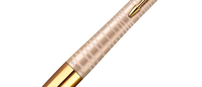 Ручка шариковая Parker Urban Premium Vacumatic golden
