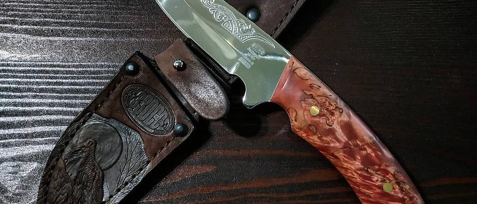 Нож НР-39 (ст. ЭИ-107) стабилизированная береза