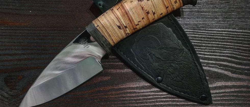 Нож Н-84 (ст. ЭИ-107, береста)