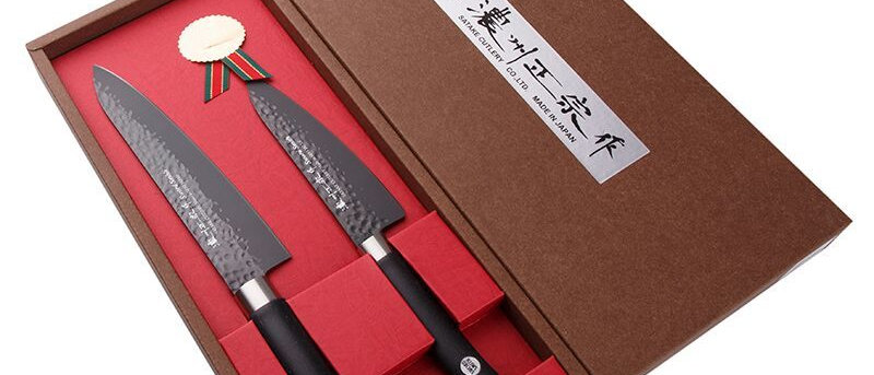Набор подарочный Satake Hammer Titanium из 2 ножей