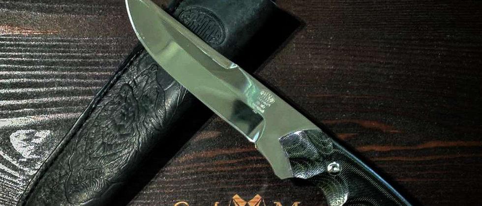 Нож Н-8 (ст. ЭИ-107) рукоять текстолит
