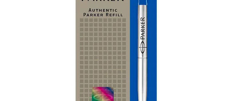 Стержень для ручки-роллера Parker, M, синий