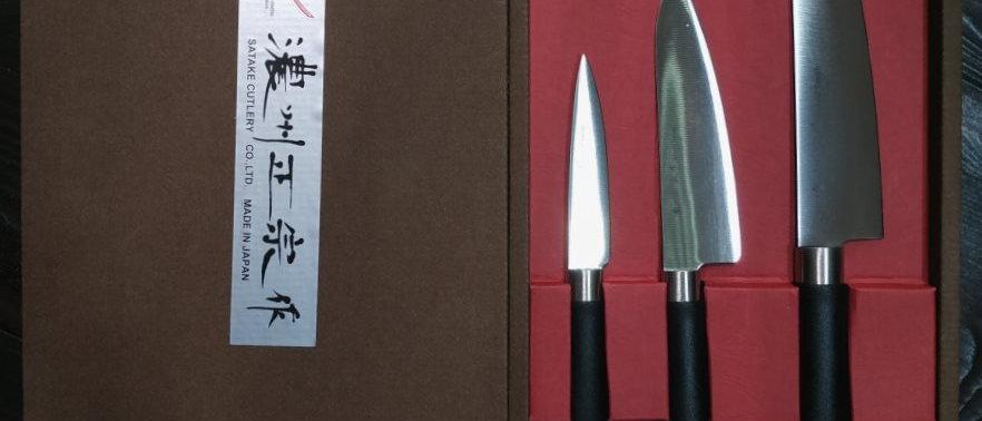 Набор подарочный SATAKE Sword Smith, 3 ножа
