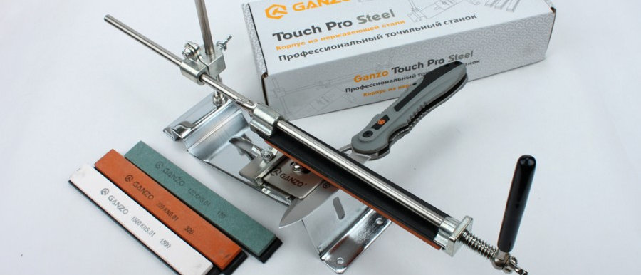 Точильный станок Ganzo Touch Pro Steel