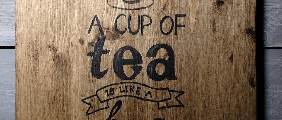 """Вдохновляющая доска """"A cup a tea"""""""