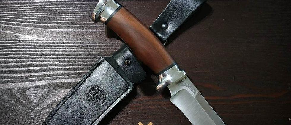 """Нож """"Росомаха"""", ст. 95Х18, орех, АиР"""
