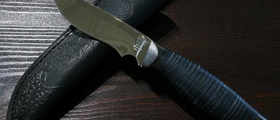 Нож Н-31 (ст. ЭИ-107, текстолит, кожа)