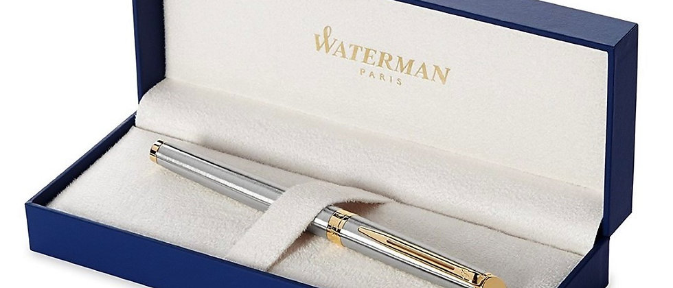 Ручка-роллер Waterman Hemisphere - Stainless Steel GT