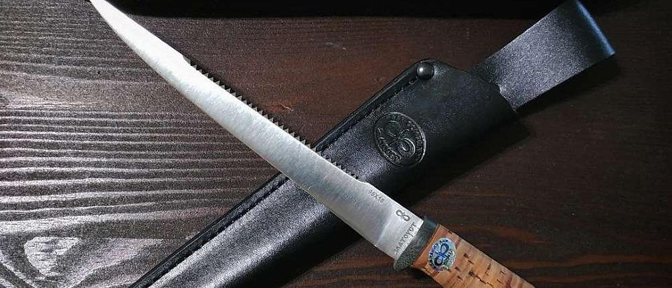 "Нож ""Белуга"", ст. 95Х18, береста, АиР"