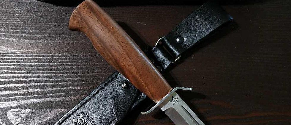 """Нож """"Штрафбат"""" (ст. 95Х18), орех, АиР"""