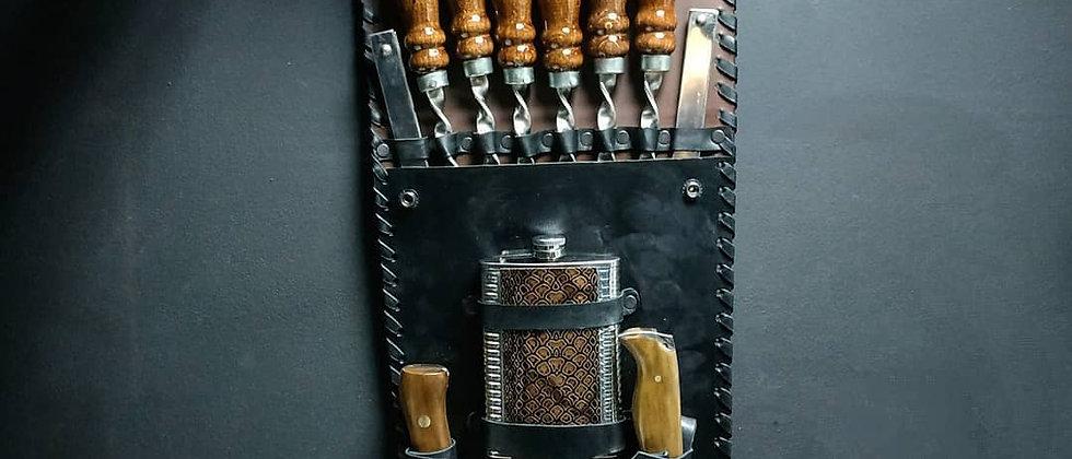 Шашлычный набор в колчане №2 (Кизляр)