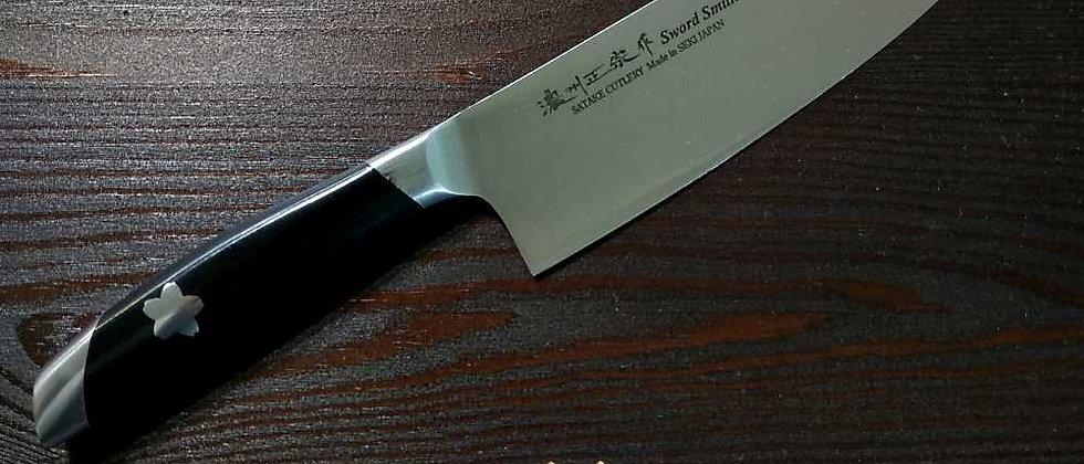 Нож кухонный шеф SATAKE SAKURA, 180 мм