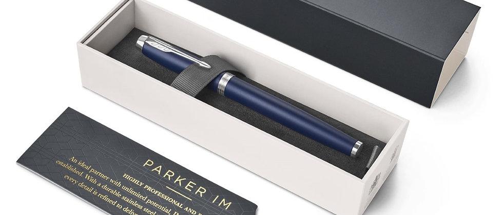 Перьевая ручка Parker IM Core Matte Blue CT, F