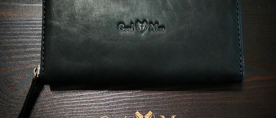 Клатч на молнии Good Man (Черный)