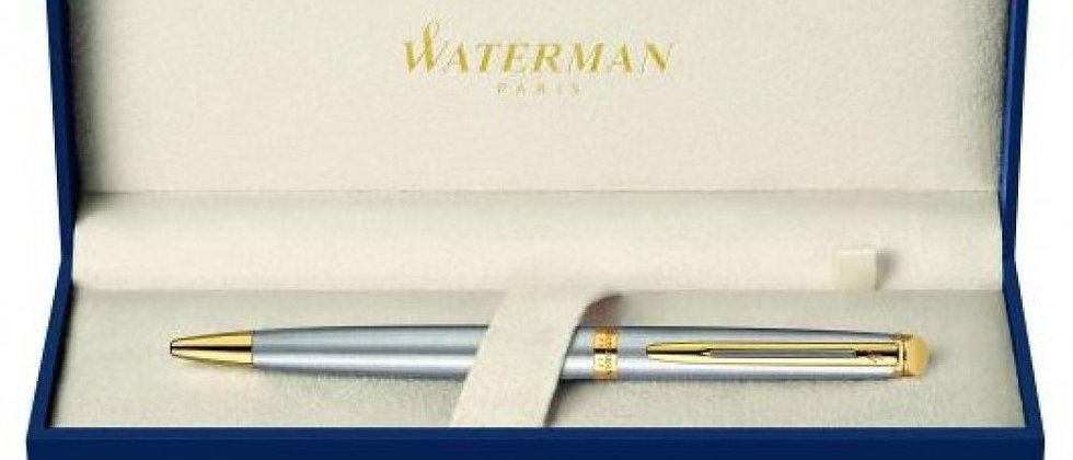 Шариковая ручка Waterman Hemisphere - Stainless Steel GT